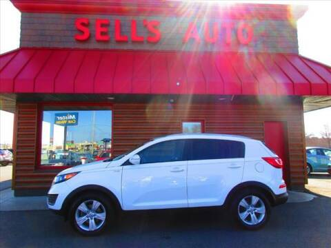 2011 Kia Sportage for sale at Sells Auto INC in Saint Cloud MN