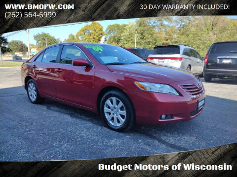 2009 Toyota Camry for sale at Budget Motors of Wisconsin in Racine WI