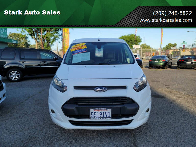 2015 Ford Transit Connect Cargo for sale at Stark Auto Sales in Modesto CA