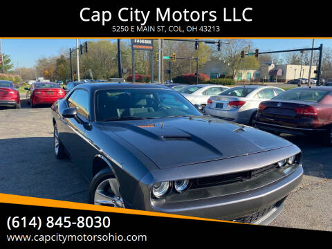 2018 Dodge Challenger for sale at Cap City Motors LLC in Columbus OH