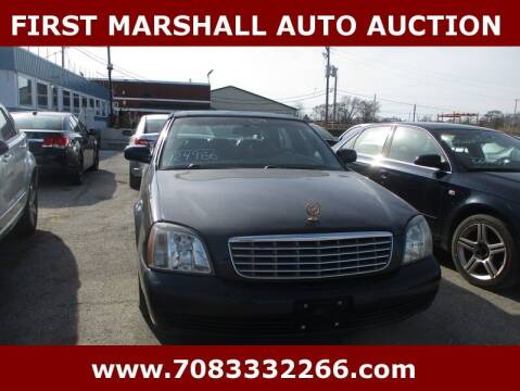 2004 Cadillac DeVille for sale at First Marshall Auto Auction in Harvey IL