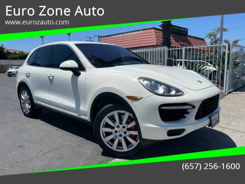 2011 Porsche Cayenne for sale at Euro Zone Auto in Stanton CA