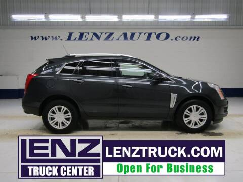 2016 Cadillac SRX for sale at LENZ TRUCK CENTER in Fond Du Lac WI