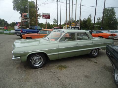 1964 Chevrolet Impala for sale at Marshall Motors Classics in Jackson Michigan MI