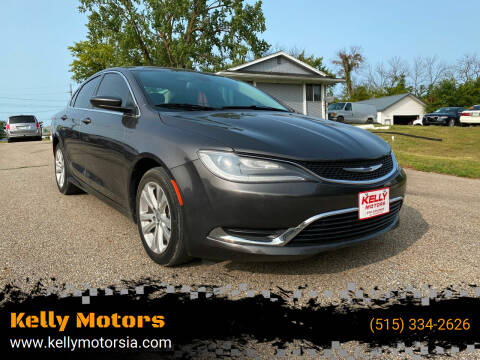 2015 Chrysler 200 for sale at Kelly Motors in Johnston IA