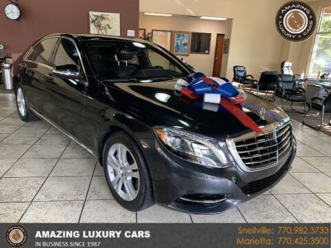 2017 Mercedes-Benz S-Class for sale at Amazing Luxury Cars in Snellville GA