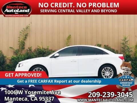 2013 Chevrolet Cruze for sale at Manteca Auto Land in Manteca CA