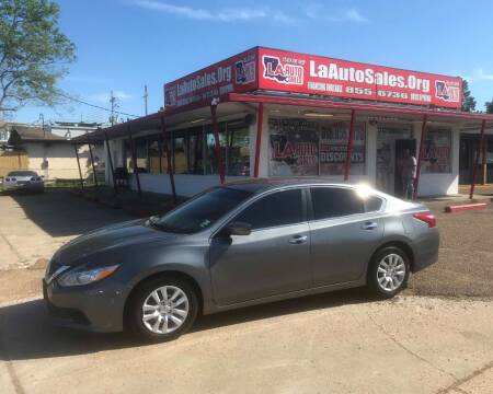 2017 Nissan Altima for sale at LA Auto Sales in Monroe LA