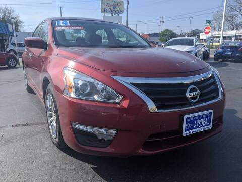 2014 Nissan Altima for sale at GREAT DEALS ON WHEELS in Michigan City IN