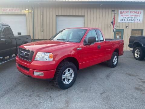 2005 Ford F-150 for sale at East Coast Motor Sports in West Warwick RI