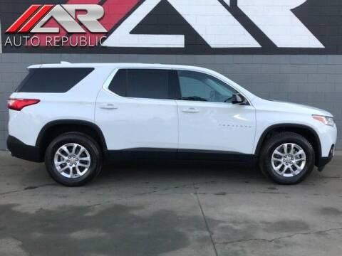 2019 Chevrolet Traverse for sale at Auto Republic Fullerton in Fullerton CA