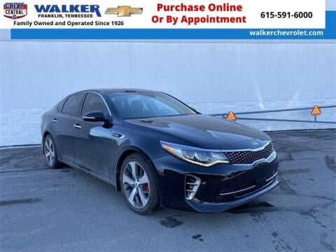 2017 Kia Optima for sale at WALKER CHEVROLET in Franklin TN