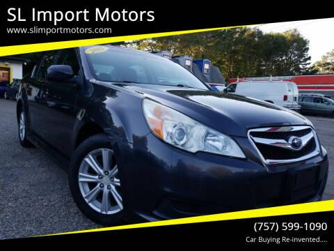 2011 Subaru Legacy for sale at SL Import Motors in Newport News VA