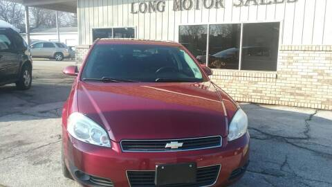 2010 Chevrolet Impala for sale at Long Motor Sales in Tecumseh MI