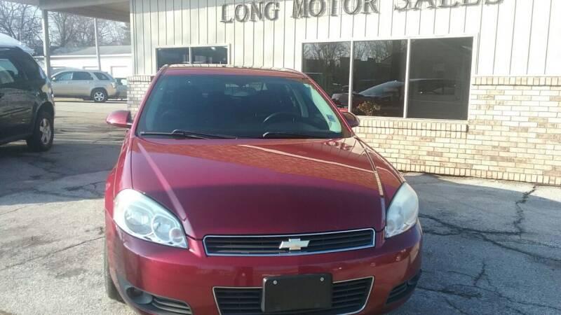 2010 Chevrolet Impala for sale at Long Motor Sales in Tecumseh MI