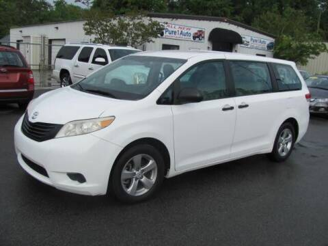 2012 Toyota Sienna for sale at Pure 1 Auto in New Bern NC