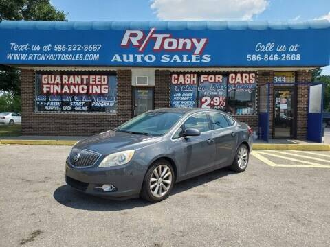 2013 Buick Verano for sale at R Tony Auto Sales in Clinton Township MI