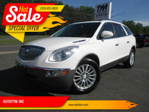 2012 Buick Enclave for sale at AUTOTYM INC in Fredericksburg VA