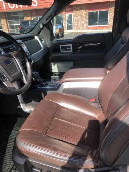 2012 Ford F-150 for sale at Tonys Car Sales in Richmond IN