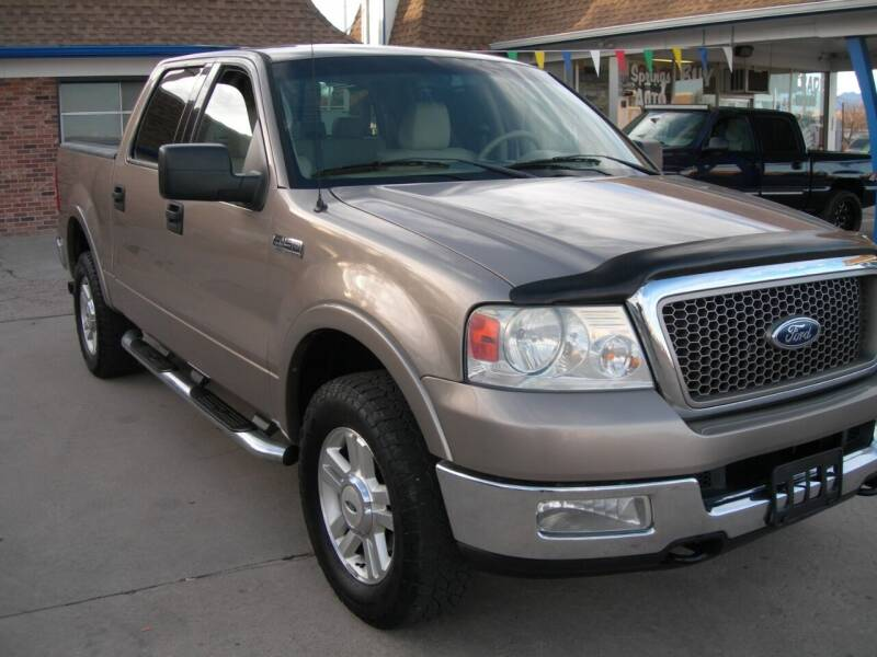 2004 Ford F-150 4dr SuperCrew Lariat 4WD Styleside 5.5 ft. SB - Colorado Springs CO