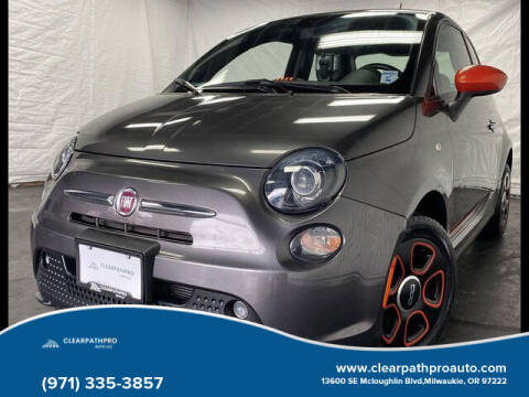 2014 FIAT 500e for sale at CLEARPATHPRO AUTO in Milwaukie OR