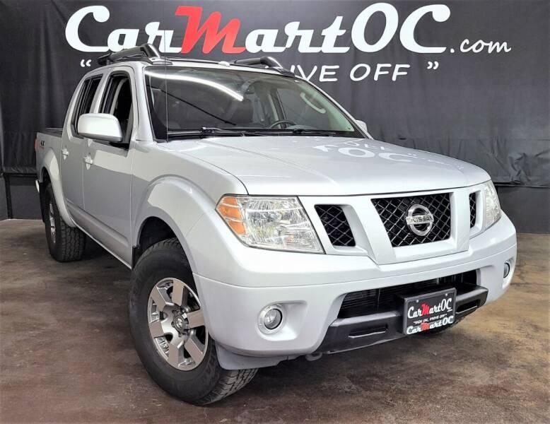 2011 Nissan Frontier for sale at CarMart OC in Costa Mesa, Orange County CA