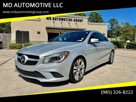 2014 Mercedes-Benz CLA for sale at MD AUTOMOTIVE LLC in Slidell LA
