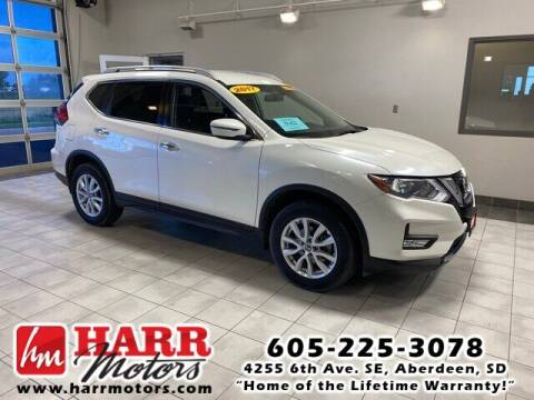 2017 Nissan Rogue for sale at Harr Motors Bargain Center in Aberdeen SD