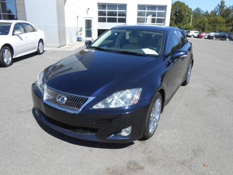 2010 Lexus IS 250 for sale at Auto America in Monroe NC
