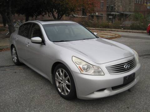 2009 Infiniti G37 Sedan for sale at EBN Auto Sales in Lowell MA