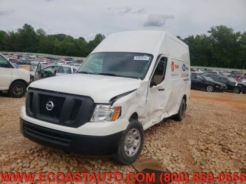2018 Nissan NV Cargo for sale at East Coast Auto Source Inc. in Bedford VA