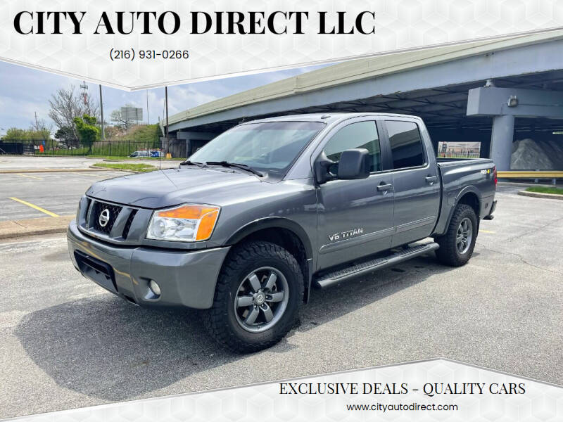 2014 Nissan Titan for sale at City Auto Direct LLC in Cleveland OH