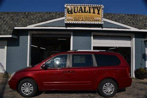 2012 Kia Sedona for sale at Quality Pre-Owned Automotive in Cuba MO