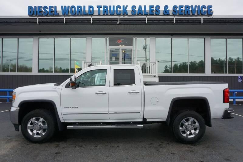 2016 GMC Sierra 2500HD for sale at Diesel World Truck Sales in Plaistow NH