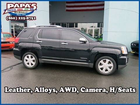 2017 GMC Terrain for sale at Papas Chrysler Dodge Jeep Ram in New Britain CT