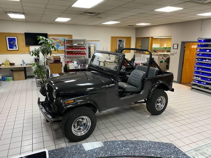1985 Jeep CJ-7 for sale at FIESTA MOTORS in Hagerstown MD