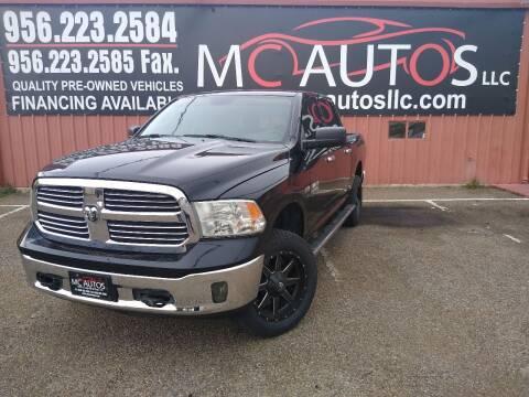 2014 RAM Ram Pickup 1500 for sale at MC Autos LLC in Pharr TX