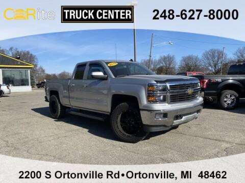 2015 Chevrolet Silverado 1500 for sale at Carite Truck Center in Ortonville MI