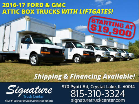 2017 Ford E-450 for sale at Signature Truck Center in Crystal Lake IL