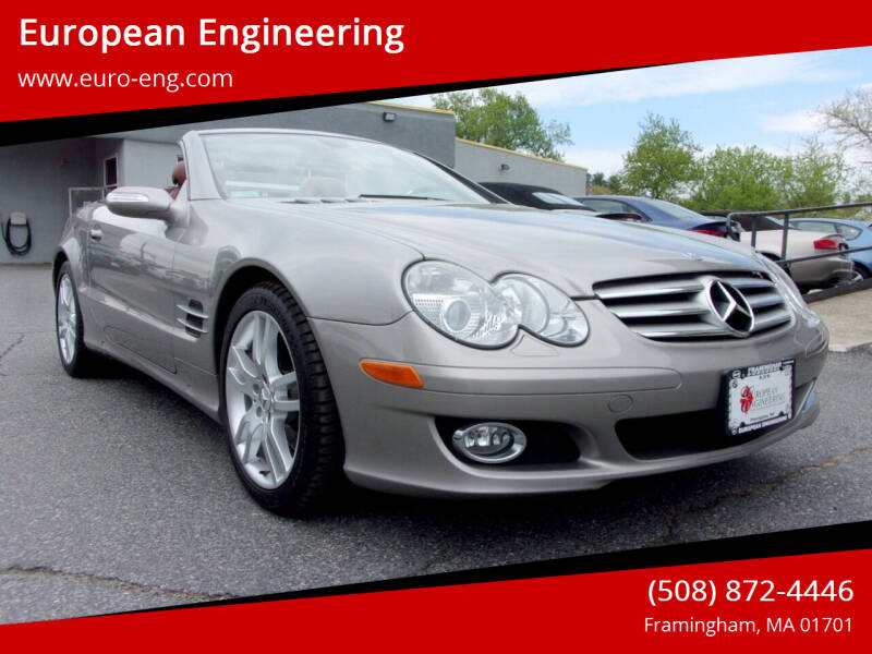 2007 Mercedes-Benz SL-Class for sale at European Engineering in Framingham MA