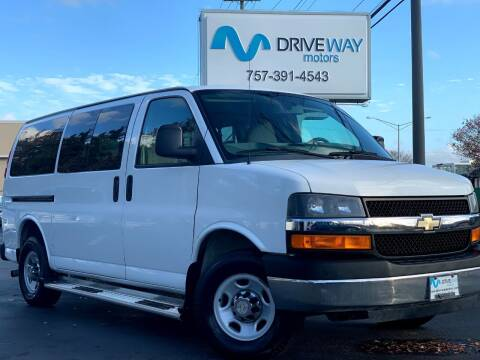 2014 Chevrolet Express Passenger for sale at Driveway Motors in Virginia Beach VA