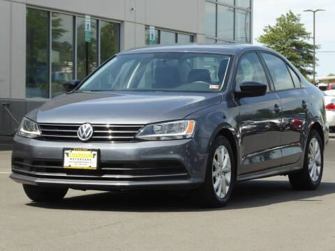 2015 Volkswagen Jetta for sale at Loudoun Used Cars - LOUDOUN MOTOR CARS in Chantilly VA