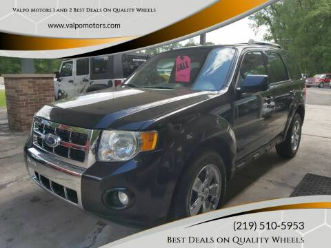 2011 Ford Escape for sale at Valpo Motors 1 and 2  Best Deals On Quality Wheels in Valparaiso IN