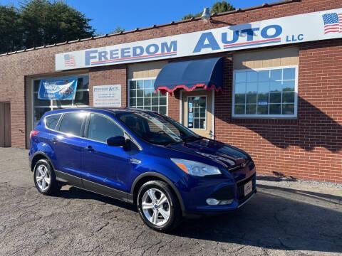 2016 Ford Escape for sale at FREEDOM AUTO LLC in Wilkesboro NC