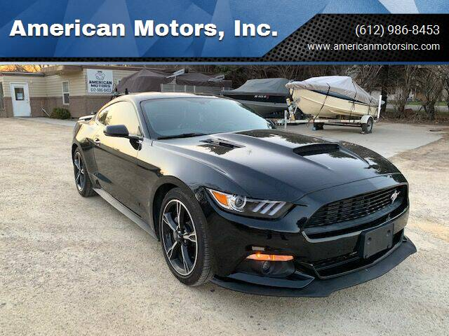 2016 Ford Mustang for sale at American Motors, Inc. in Farmington MN