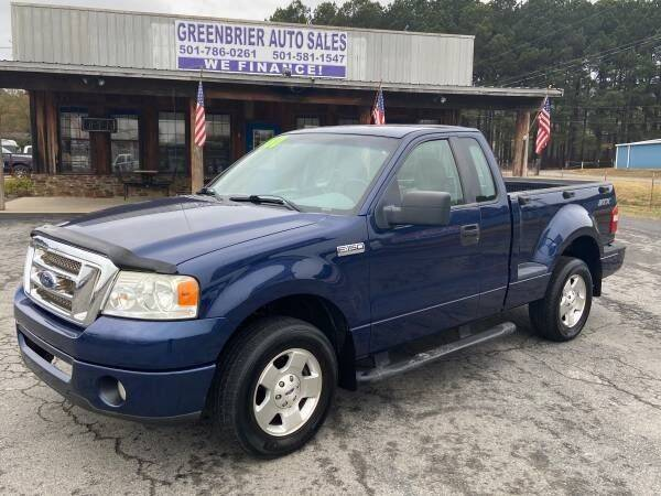2007 Ford F-150 for sale at Greenbrier Auto Sales in Greenbrier AR