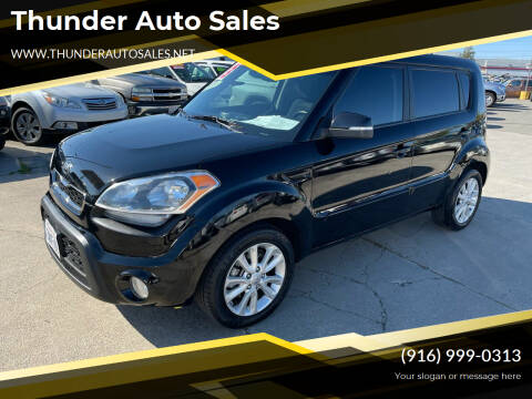 2013 Kia Soul for sale at Thunder Auto Sales in Sacramento CA