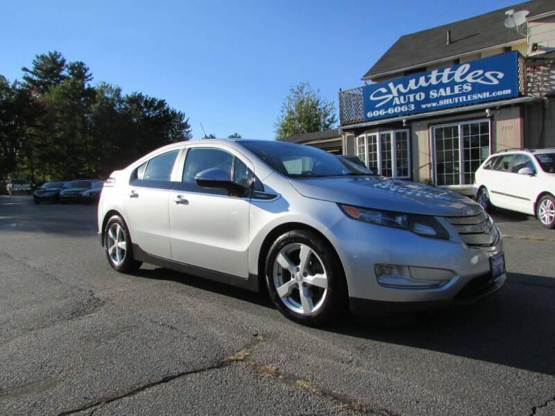 2013 Chevrolet Volt for sale at Shuttles Auto Sales LLC in Hooksett NH