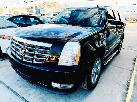 2009 Cadillac Escalade Hybrid for sale at Auto Space LLC in Norfolk VA