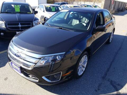 2012 Ford Fusion for sale at Howe's Auto Sales in Lowell MA